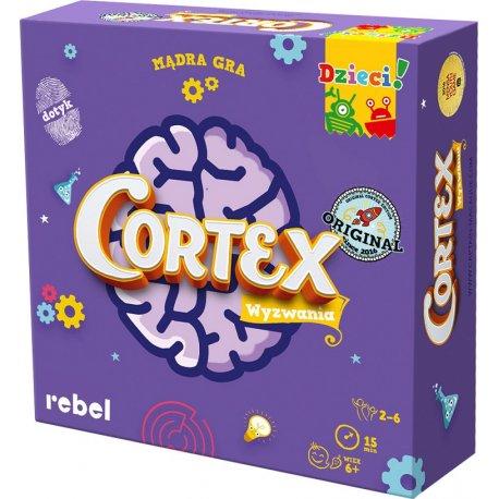 Gra Cortex dla dzieci - Wydawnictwo Rebel
