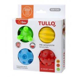 Piłki Sensoryczne dla Dzieci 4 szt - Tullo 459