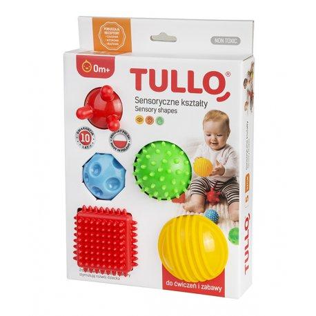 Sensoryczne kształty 5 szt - Tullo 458