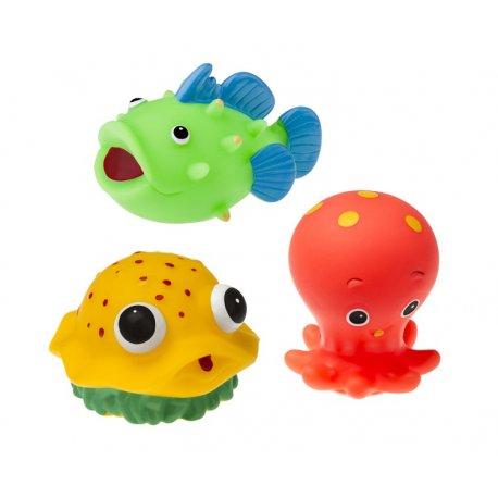 Zwierzątka do kąpieli 3 szt Tullo 503