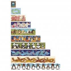 Duże puzzle 10 pingwinów - Londji