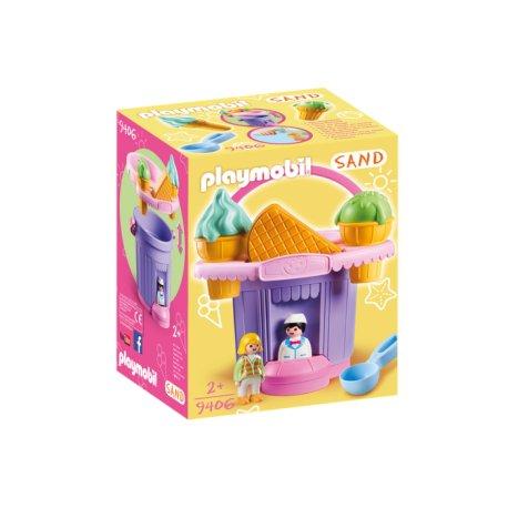 Playmobil 9406 - Wiaderko do piasku Lodziarnia