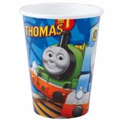 8 papierowych kubeczków Tomek i Przyjaciele - 266 ml