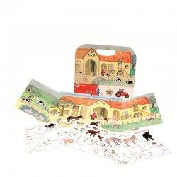 Gra Magnetyczna Farma - Magnetic Game Farm - Egmont Toys