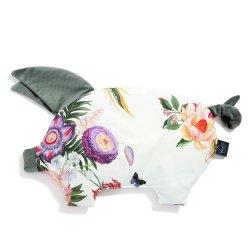 Podusia Sleepy Pig Velvet - Paradise, khaki - La Millou