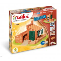 Domki - 2 plany, 110 el - TEIFOC - Budowle z cegiełek - 4105