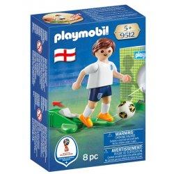 Playmobil 9512 - piłkarz drużyny angielskiej