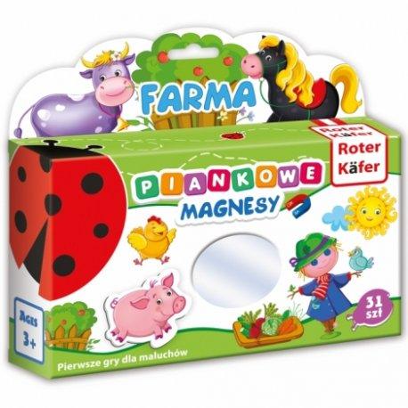 Piankowe magnesy Farma - Roter Kafer