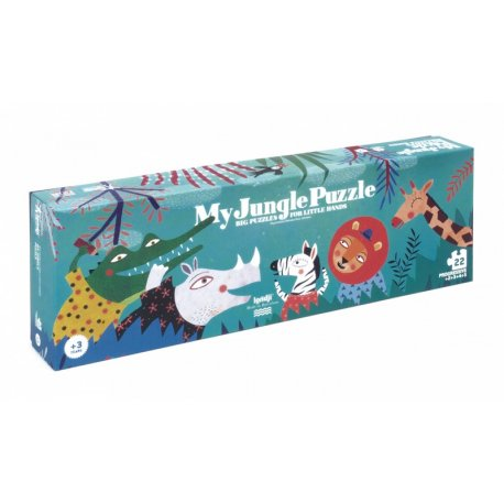 Puzzle My Jungle - Duże puzzle dla małych rączek - Londji