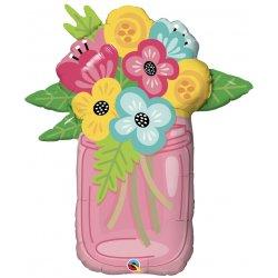 """Balon Foliowy 'Bukiet Kwiatów' 36"""" - 91 cm"""