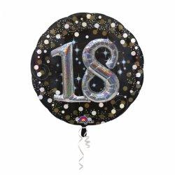 Balon na 18 urodziny Efekt 3-D Duży 81 cm
