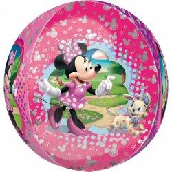 Balon Orbz Kula - Myszka Minnie 43 cm x 45 cm - 18 cali