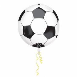Balon Foliowy Orbz Piłka Nożna 38 cm x 40 cm