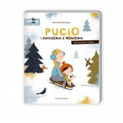 Książka Pucio i ćwiczenia z mówienia, czyli nowe słowa i zadania, Wydawnictwo Nasza Księgarnia