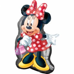 Balon Myszka Minnie XL SuperShape 48 cm x 81 cm