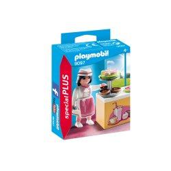 Playmobil 9097, Pani cukiernik przy ladzie