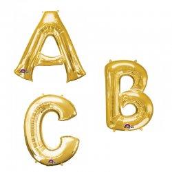 Balony Litery - Napis PARTY Złote od firmy Anagram