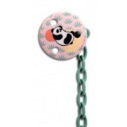Okrągły Klips do Smoczka Panda - Suavinex