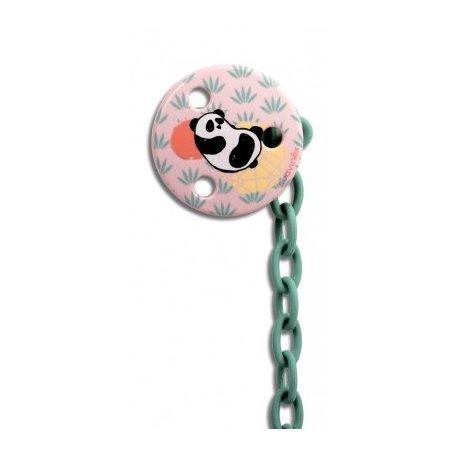 Suavinex, Okrągły klips do smoczka Panda