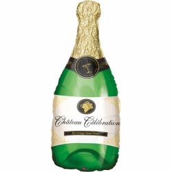 Szampan Champagne Bottle - Balon Foliowy 91 cm x 35 cm
