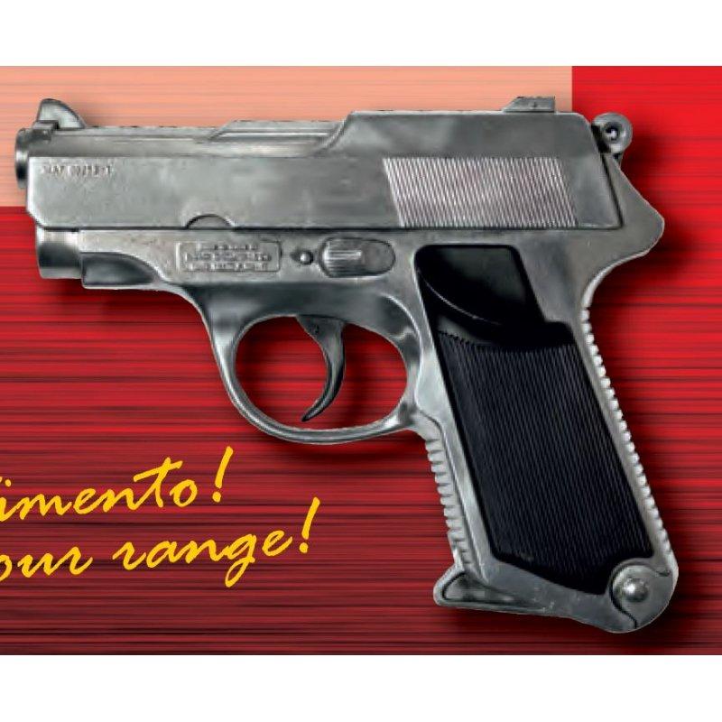 Metalowy Pistolet na Kapiszony - Sharkmatic