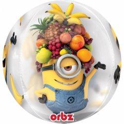 "Balon Orbz Kula - Minionki - 38 x 40 cm - 16"""
