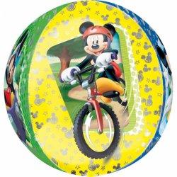 Balon Orbz Kula - Myszka Mickey 43 cm x 45 cm - 18 cali