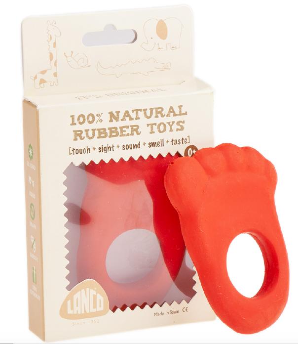 Gryzak dla niemowląt - Gryzak Stópka Lanco Toys