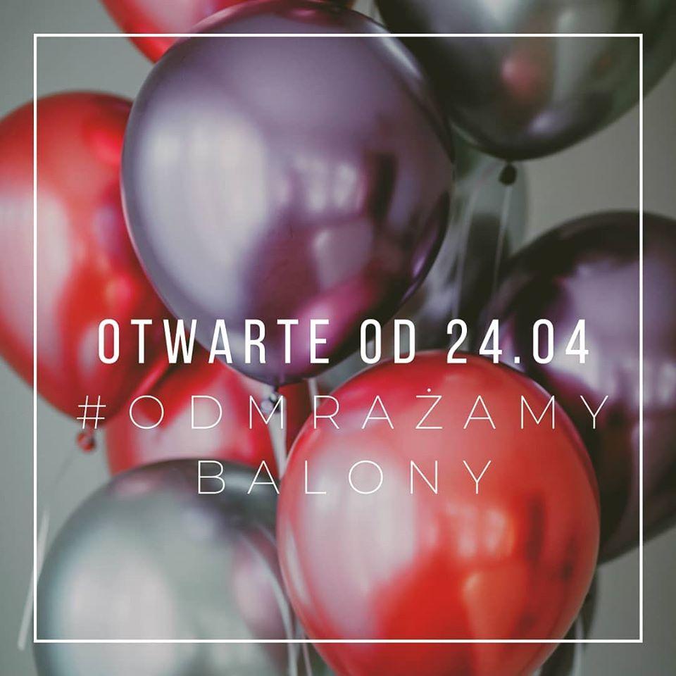 Odmrażamy balony - Nic z Chin filia Party w Krakowie