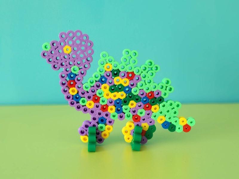 Zestaw koralików Hama Maxi 8742-Dino