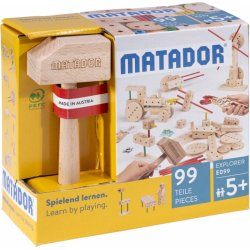 Drewniane klocki konstrukcyjne MATADOR