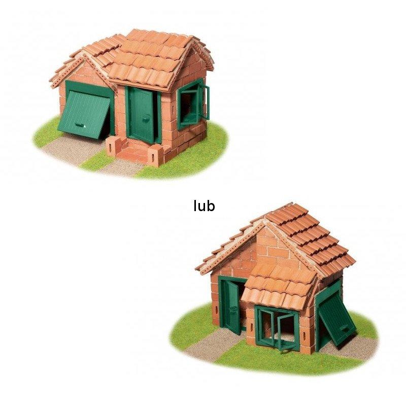 Teifoc 4210 - Dom z garażem - 2 plany