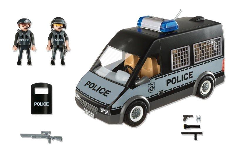 Playmobil 6043 - Samochód brygady policyjnej wraz z akcesoriami