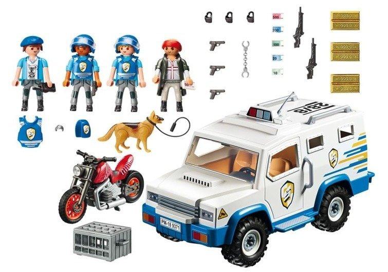 Playmobil 9371 - City Action - Transporter pieniędzy