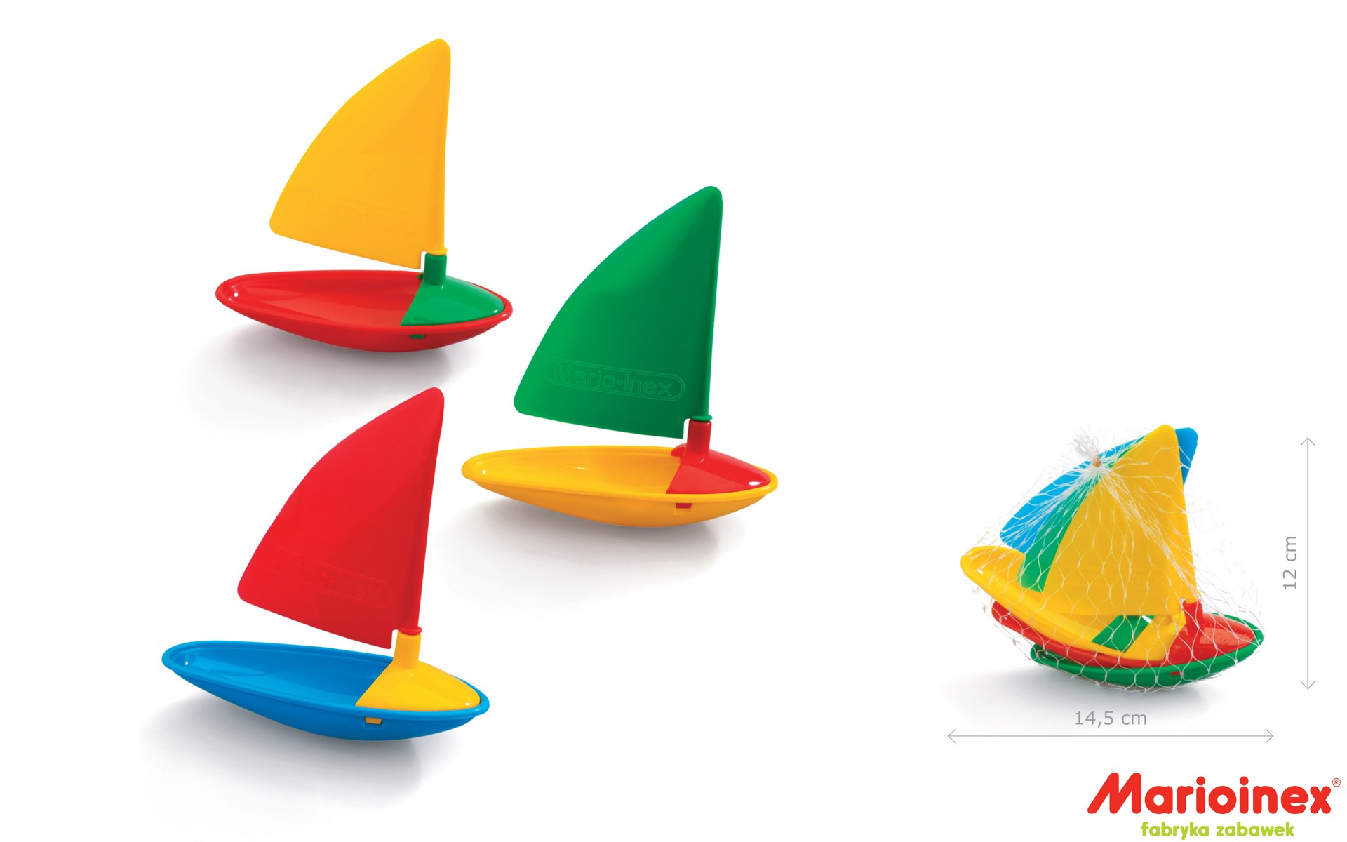 Żaglówki dla dzieci do kąpieli - Marioinex