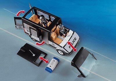 Playmobil 6043 - Samochód brygady policyjnej