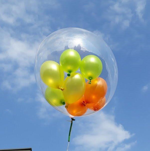 Balon Dekoracyjny - balon w balonie
