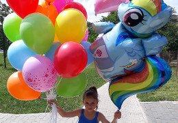 Bukiet balonów na 5 urodziny