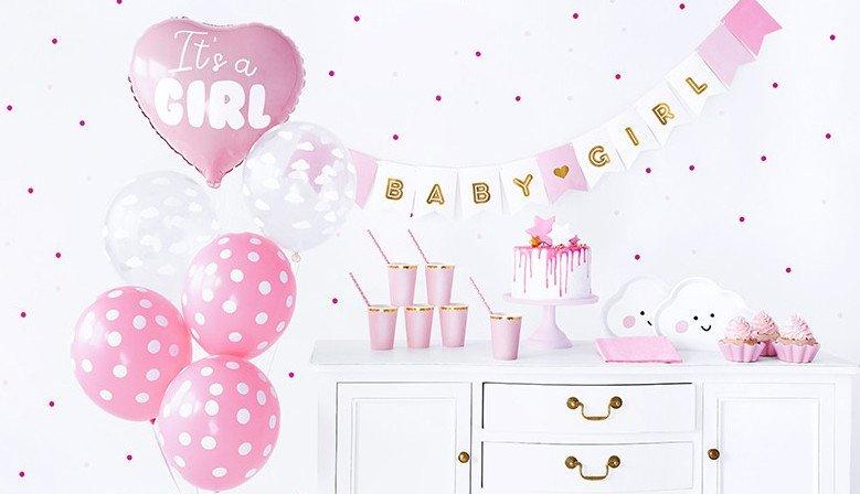Zestaw dekoracyjny na baby shower